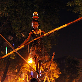 ||Balancing|| by Mriganka Sekhar Halder - People Street & Candids