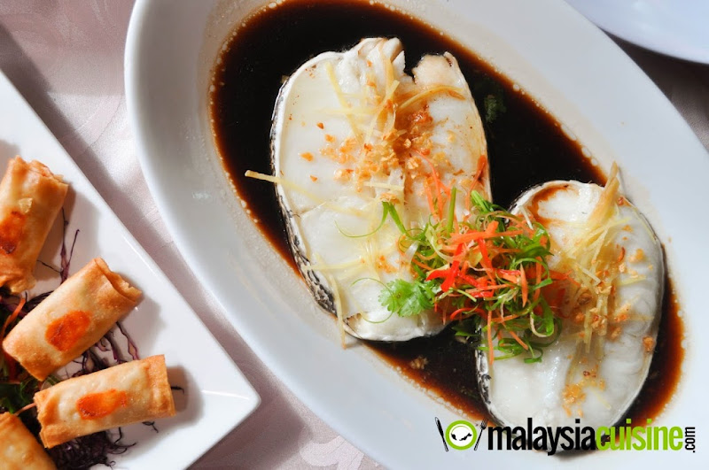 Steamed Cod Fish @ Tasty Wok Cafe - Malaysia Food & Restaurant Reviews