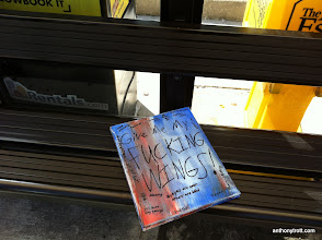 Photo: Give Me My Fucking Wings! - Easter Egg 04/09/12 - Bus Stop in Parsippany, NJ
