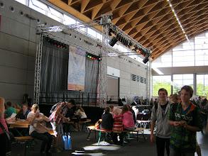 Photo: jobfactory 2012: Bummeln und informieren.
