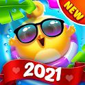 Bird Friends : Match 3 & Free Puzzle icon