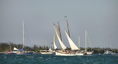 Photo: ...and a nice windy day for sailing.