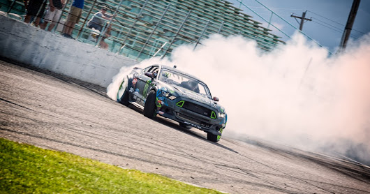 Mustang Week 2015: Vaughn Gittin Jr.