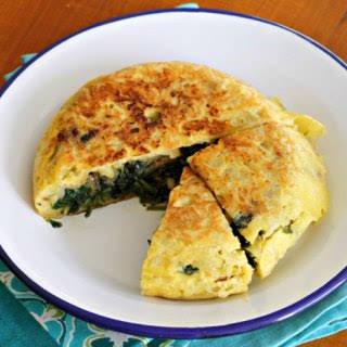 Stuffed Spanish Omelette {#TheRecipeReDux}.
