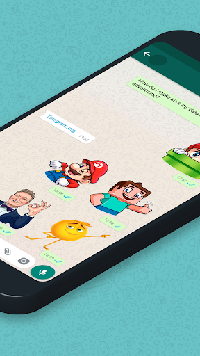 New Stickers for chatting 2.2.30 screenshots 2