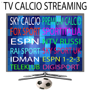 tv calcio streaming football