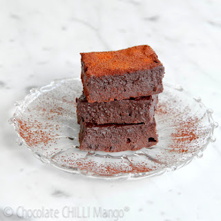 Mexican Protein Brownies.