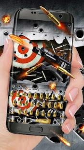 Power Gun Keyboard Theme - náhled