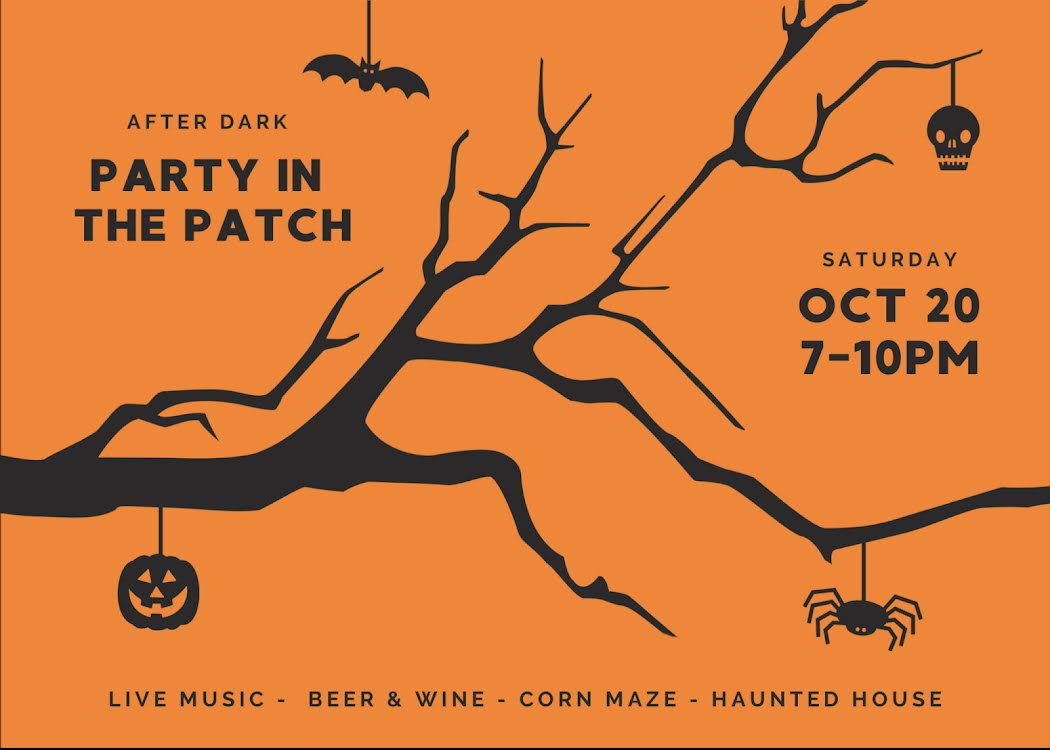 Party in the Patch - Halloween Template