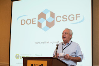 Photo: The Krell Institute Annual DOE CSGF high performance computing workshop at the Crystal Gateway Marriott in Washington, DC on July 25, 2012.