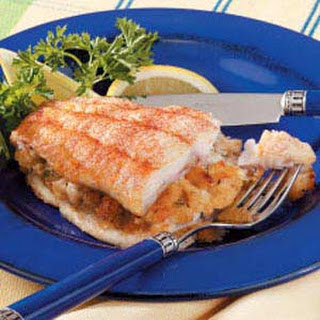 Crab-Stuffed Catfish.