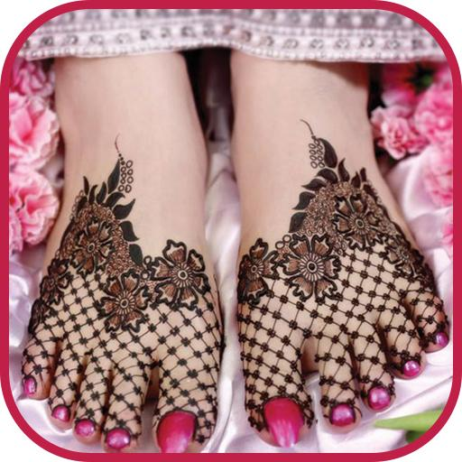 Beautiful Legs Mehndi Design