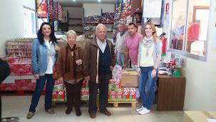 Astormi entrega más de 1.000 litros de leche al Banco de Alimentos de Salamanca