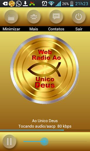 Web Rádio ao Único Deus