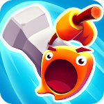 Smashers.io Foes in Worms Land Icon
