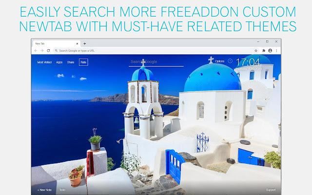 Santorini Island Wallpapers HD Custom New Tab