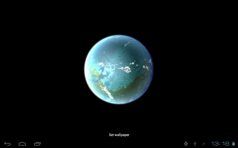 Скриншот Planet Mars 3D Live Wallpaper