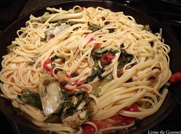 Escarole With Spaghetti Recipe