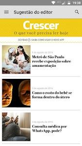 Revista Crescer screenshot 0