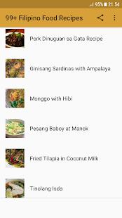 99+ Filipino Food Recipes - náhled