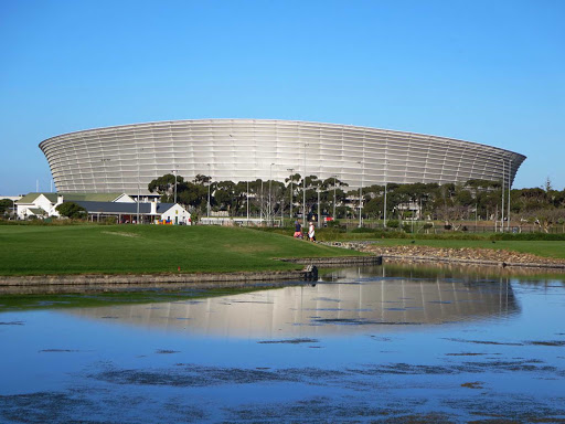 Cape-Town-stadium - Cape Town Stadium, seen here from Green Point Park, dates from 2010 when South Africa hosted the FIFA World Cup.