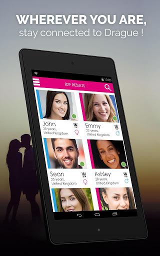 DRAGUE.NET : free dating, chat and flirt 2.4 screenshots 10