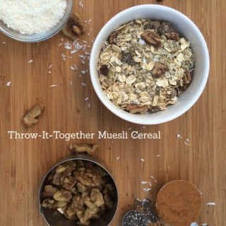 Throw-It-Together Muesli Cereal.