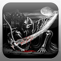 Skeleton Grim Reaper Fire LWP icon