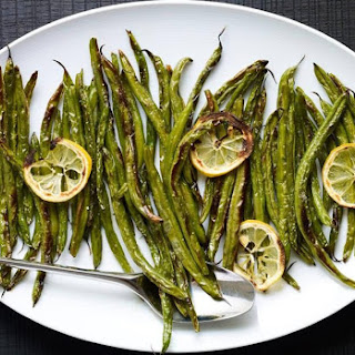 Quick Charred Green Beans.