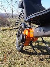 Photo: Vu sur le module moteur (capteur de couple, moteur,contrôleur, position idéal pour unrefroidissementparfait.Compact, moins de 2kg,