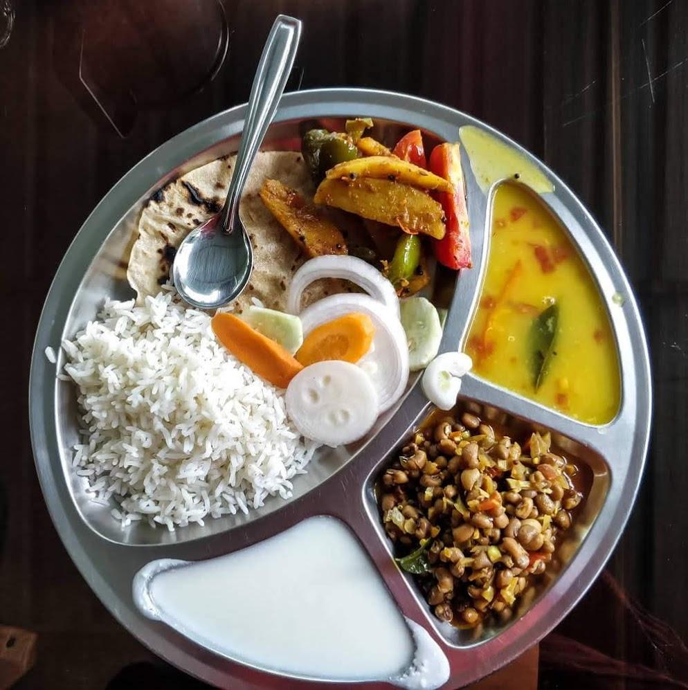 food+vegetarian+dandeli+jungle+stay+karnataka