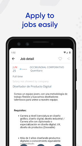 Jobs Search and Employment - OCCMundial screenshots 2