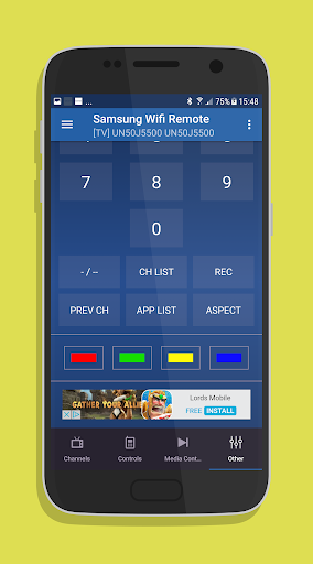 Remote for Samsung Smart TV WiFi Remote screenshot