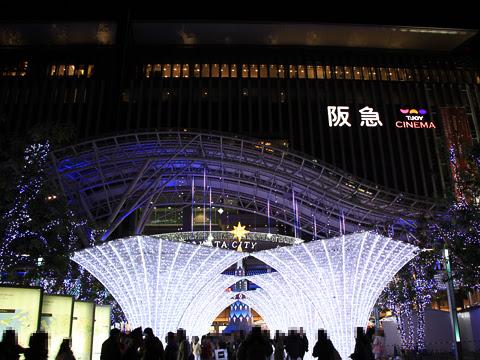 博多駅 クリスマスイルミネーション_02