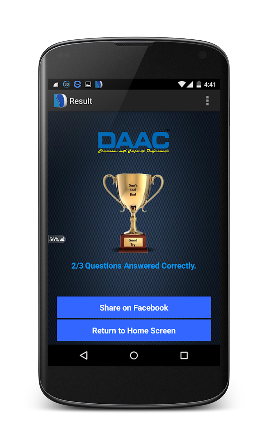 DAAC-Classroom with Corporates- screenshot