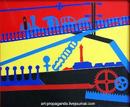 """Photo: """"Механизмы"""" 2002г. В.Шелковников"""