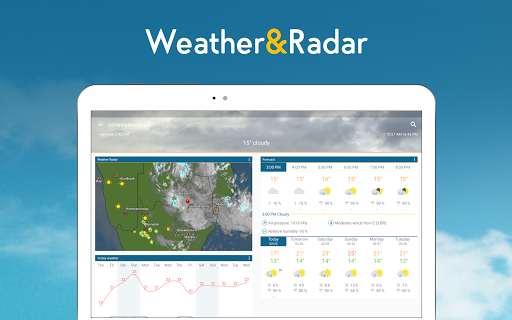 Weather & Radar - Free app (apk) free download for Android/PC/Windows screenshot