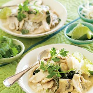 Chicken Coconut Curry Mushroom Recipes.