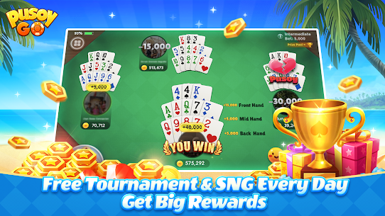 Pusoy Go: Free Online Chinese Poker(13 Cards game) App Latest Version  Download For Android 3