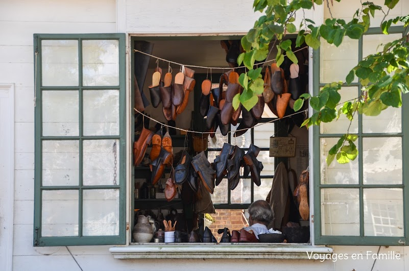 williamsburg shoemaker