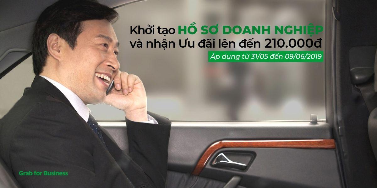 Tặng Doanh nghiệp 210.000 khi đăng ký Grab for Business 3