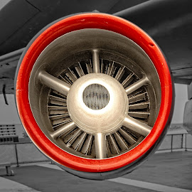 Turbojet by Richard Michael Lingo - Artistic Objects Business Objects ( artistic objects, engine, business objects, airplane, turbojet )