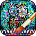 Adult Coloring Book Mandalas icon