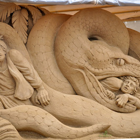 Sand Art in Germany by Mehul V - Buildings & Architecture Statues & Monuments ( germany, sand art )