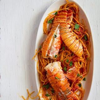 Spicy Lobster Spaghetti