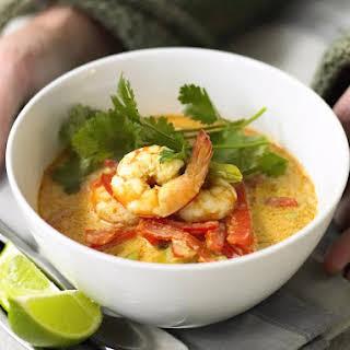 Spicy Prawn Soup.