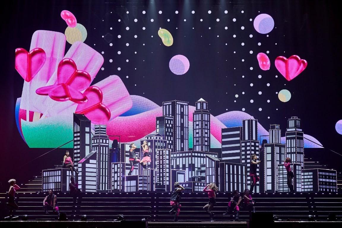 安室奈美惠2018「namie amuro Final Tour 2018 _Finally_」終場演唱會(Photo Credit:Moment Factory)