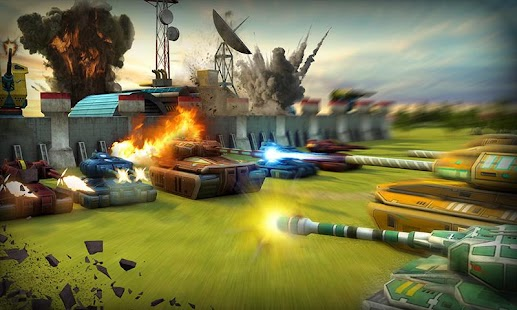Tank Destruction: Multiplayer- screenshot thumbnail