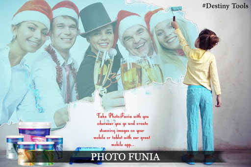 Photo Funia Effect