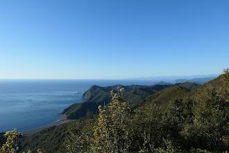 山頂からの展望1(塩竈浜方面)